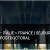 Atlas 2018 – Italia>Francia – Soggiorni di ricerca di postdottorato