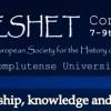 AISPE-STOREP Joint session at ESHET 2018