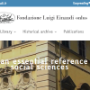 Call for 10 scholarships, Fondazione Luigi Einaudi onlus, 2019 / 2020