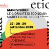 MANI VISIBILI 2019 Le Giornate di Economia Marcello De Cecco (terza edizione)