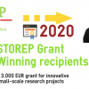 STOREPGrant 2020, Winning recipients