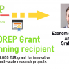 STOREPGrant 2021, winning recipient: Alessandro Le Donne