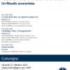 """""""Ricordando Fabio Ranchetti. Un filosofo economista"""" (21 ottobre 2021)"""